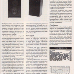 Sapphire, Hi-Fi Choice Review, Sept 91 Scan