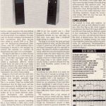 HiFi Choice Jan '90, Apex Review, scan
